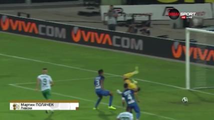 Спасяване на Мартин Полачек от Левски срещу Берое