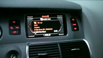 2010 Audi q7 Bose treble/bass test