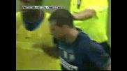 Milan - Inter 0 - 1 Serie A 29 - 08 - 2009 gool Thiagomotta