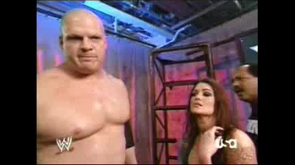 Lita,Kane and Ron backstage/RAWS 15TH ANNIVERSARY!
