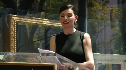 Julianna Margulies Looks Like A Real Movie Star On Walk Of Fame