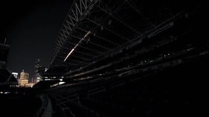Добри светлинни ефекти на стадион
