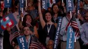 USA: Hillary Clinton accepts Democratic presidential nomination at DNC