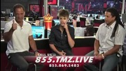 Justin Bieber on Tmz Live - complete Aug. 24 2011