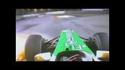 Сутил полита по улиците на Сингапур !!! - - - Формула 1 Сингапур 2010