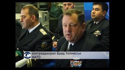 Кораби на НАТО се засякоха в Черно море с руски плавателни съдове и изтребители
