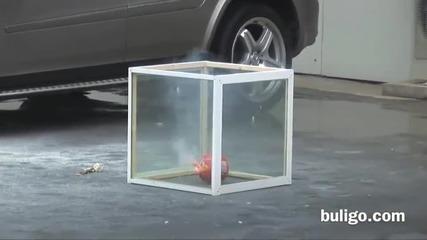 Специална капсула за гасене на пожар