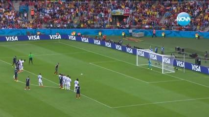 Франция победи Хондурас с 3:0