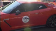 Nissan Gt-r Ams Alpha 12 vs Porsche 911 Turbo Proto R911