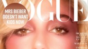 Hailey Bieber goes full disco diva in Vogue Arabia