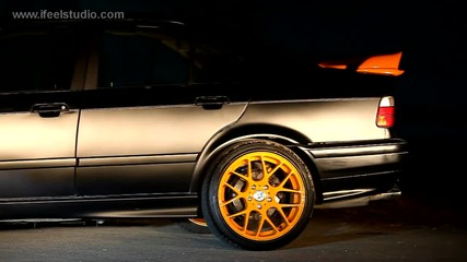 Black Orange Burn - Bmw e36