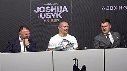 UK: Oleksandr Usyk claims world heavyweight title after defeating Anthony Joshua