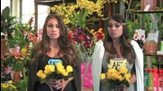 Psycho Girl Vs. Angel Face - Girl Runs Into A Douchie Florist - Exoticjess