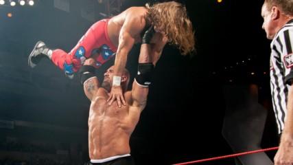 Batista returns to interrupt a dream Goldberg vs. Shawn Michaels match: Raw, Oct. 20, 2003