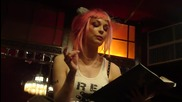 Emilie Autumn is reading her book (hd video) @ Cabaret Sauvage 3 - 3 - 2010