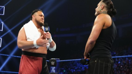 "Samoa Joe ""apologizes"" to Jeff Hardy: SmackDown LIVE, Dec. 18, 2018"