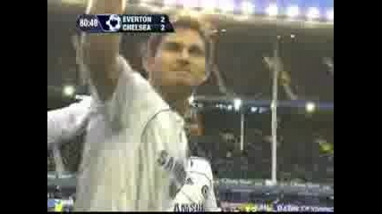 Everton - Chelsea (Frank Lampard)