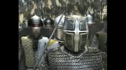 medieval war crusader