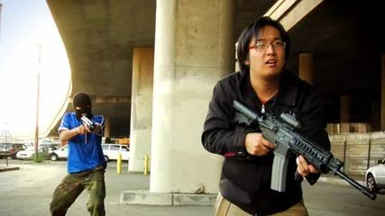 По - яка пародия на Counter - Strike не сте виждали - Тоя наистина е с Aim Hack :d