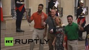 France: Thalys train 'heroes' receive Legion of Honour from Hollande