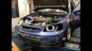 Адски Звяр - Honda Civic 700 hp !