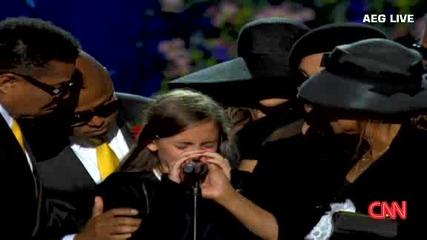 Дъщерята на Майкал Джексън,  Парис Джексън каза - Tой беше най - добрия баща,  който можеше да бъде!