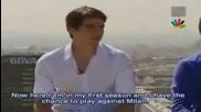 Ronaldo, Kaka, Benzema Интервюта! 2009!!
