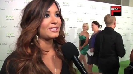Demi Lovato Interview at the Htc Status Social Launch Party (hq)