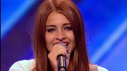 The X Factor Uk 2013 - Hannah Shears sings Sky Scraper by Demi Lovato -- Arena Auditions Week 4