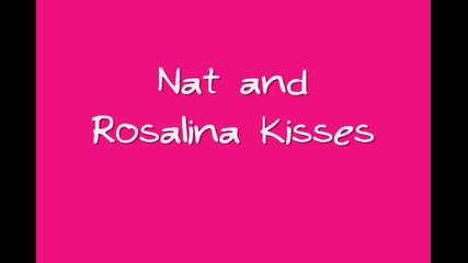 нат и розалина целувки