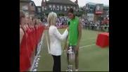 ATP Queens - Награждаването на Надал
