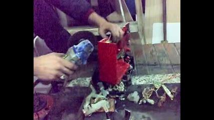 ремонт касетофон2 Bombata и Mитко