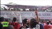 Brazil: Thousands rally in Sao Paulo against government and main opposition party