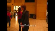 Sterling Knight doing the Soulja Boy dance after the Jonas Brothers 3d Movie Premiere