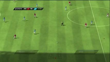 Fifa 10 Arsenal Vs Man City First Half