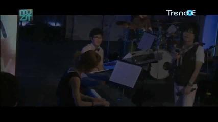100814 Shinee Taemin Long Long Ago (piano song) @the muzit