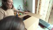 Мила Христова поднесе празничен пакет на Беатриче