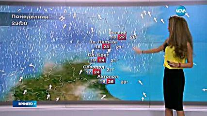 Прогноза за времето (12.06.2016 - централна емисия)
