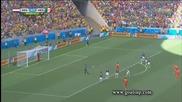 Холандия на 1/4 финал на Световното! Холандия 2:1 Мексико 29.06.2014