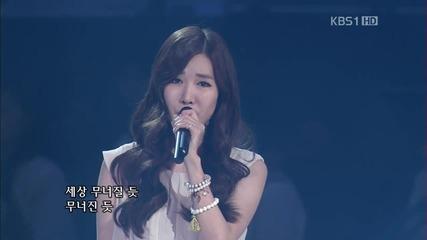 Davichi - Don't Say Goodbye @ Kbs Open Concert