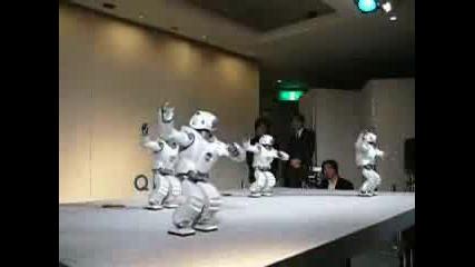 Танцуващият Робот На Sony!