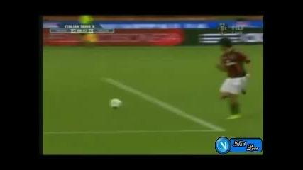 Milan - Lecce 4 - 0 Highlights Serie A - 29 08 10