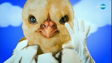 Пилето изпълнява Gasolinna на Daddy Yankee | Маскираният певец
