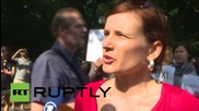 Germany: Police detain Greek 'Oxi' solidarity protesters as Bundestag debates bailout