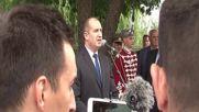 Радев: Ценим готовността на Македония за опазване на българските войнишки паметници