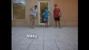Ники и Стеф с Жоро - Фрийстайл за забавление