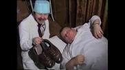 Смях - 2 новини- добра и лоша... с Пепо Габровски и Веско Антонов