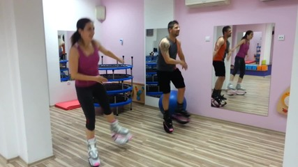 Fun with Kangoo Jumps in Smart Studio Kamato
