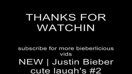 Justin Bieber cute laugh's New!