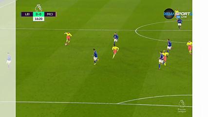 Лестър - Манчестър Сити 0:0 /първо полувреме/